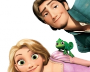 """TANGLED""  (L-R) Rapunzel, Pascal, Flynn  ©Disney Enterprises, Inc. All Rights Reserved."