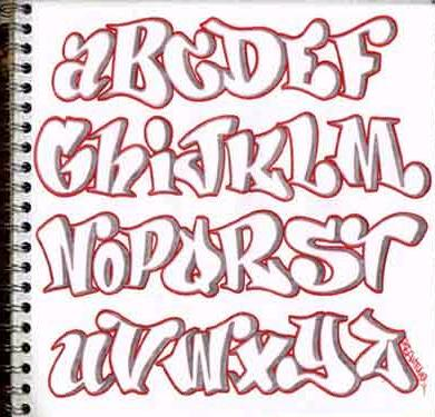 grafiti new most letras en graffiti