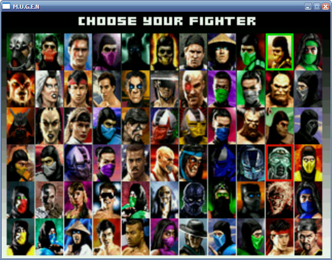 MK3 selections
