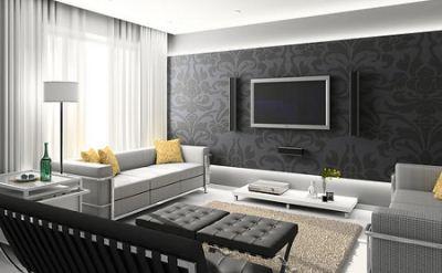 Casas modernas cultura mix for Salas modernas de casas