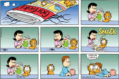 Garfield veterans day strip