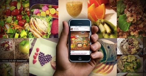 Fotos de Comida nas Redes Sociais