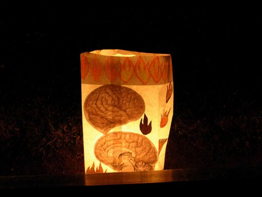 Luminaria Decorada Com Feltro