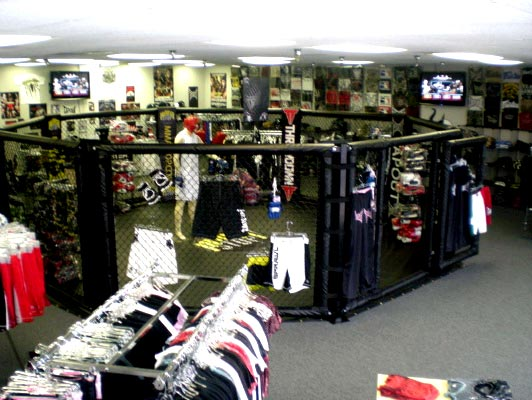 Shop at the only store in Miami with over 30 mma brands in stock. We have venum fight shorts, badboy rashguards, hayabusa gloves, affliction shirts