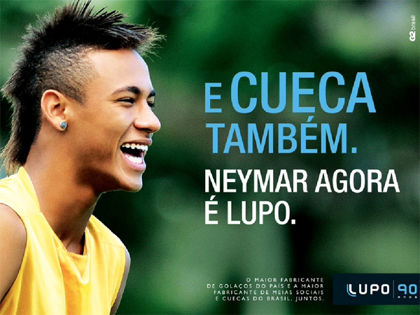 Making of do Comercial - Neymar Agora é Meia