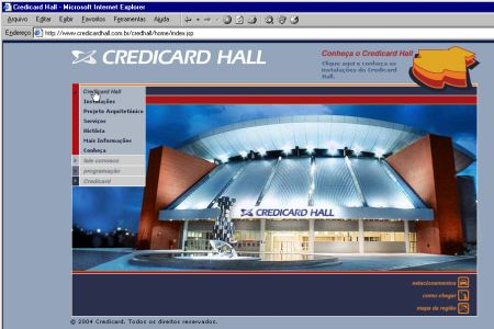 Site Do Credicard Hall