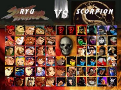 Street Fighter Personagens