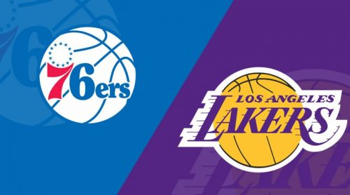 Sixers vs Lakers